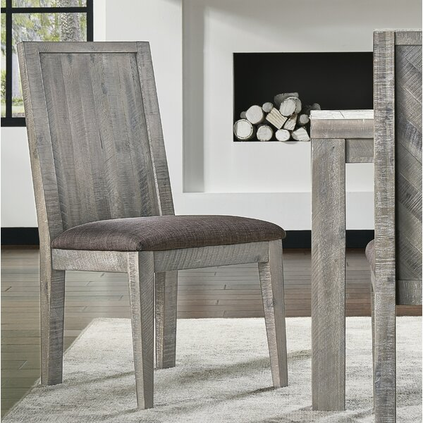 Vickery Upholstered Dining Chair (Set of 2) by Foundry Select Foundry Select