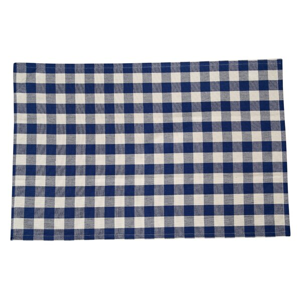 Arlington Checkered Cotton Placemat (Set of 4) by August Grove