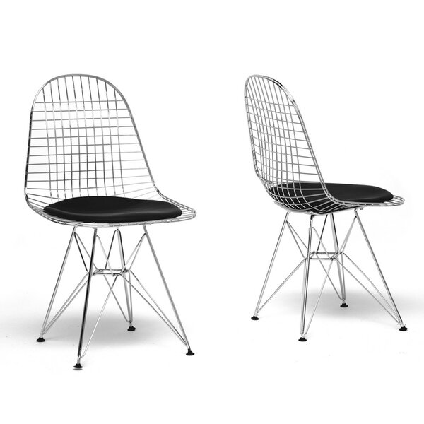 Section Wire Dining Chair (Set of 2) by Ivy Bronx