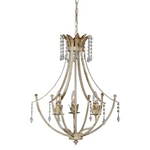Best Reviews Fairmount 3-Light Empire Chandelier By Ophelia & Co.
