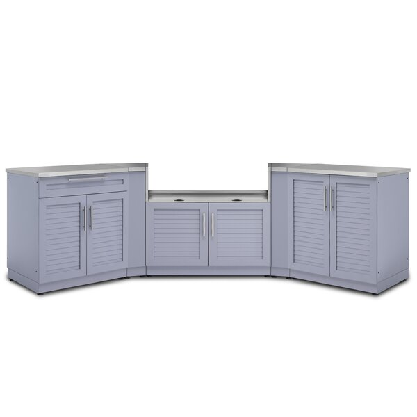 @ Kitchen 7 Piece Outdoor Bar Center Set by NewAge Products| #$3,749.99!