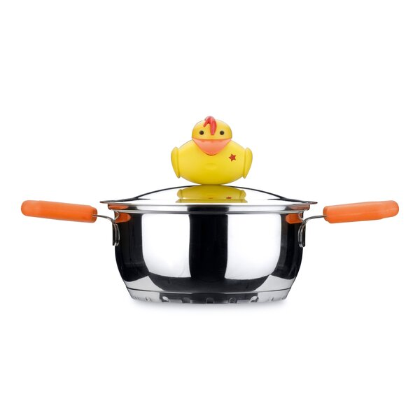 Sheriff Duck 1 1/9-Qt. Round Dutch Oven by BergHOFF International