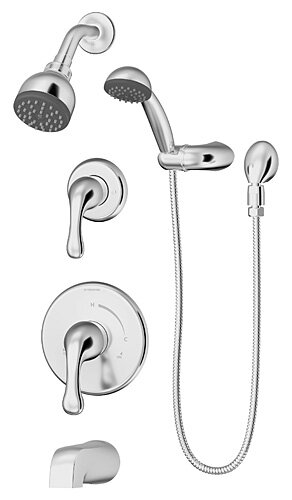 Unity Handshower and Showerhead Combo Kit Trim by Symmons