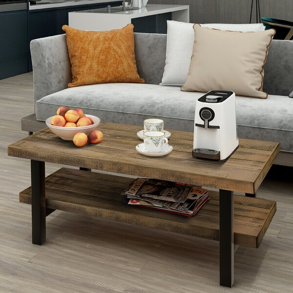 Hardnett Coffee Table With Storage By Millwood Pines