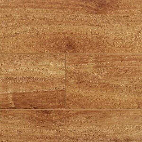 7 x 48 x 12.3mm Laminate Flooring in Honey Oak (Set of 22) by Serradon