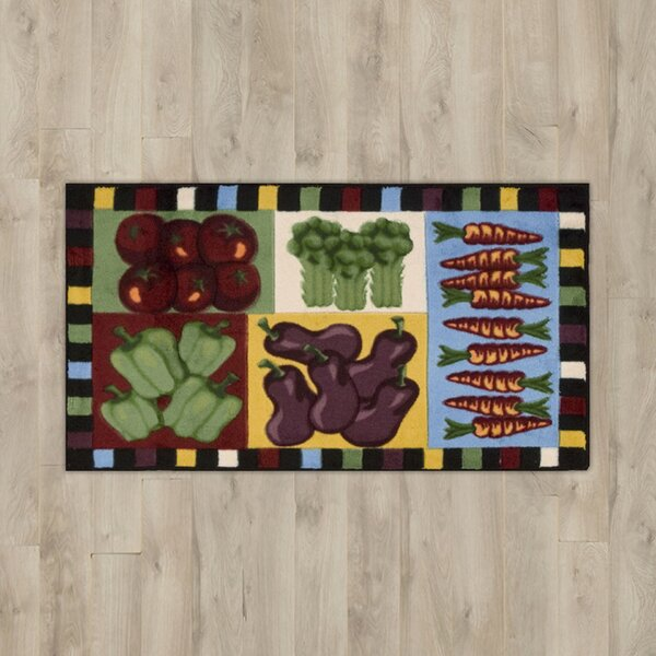 Poquonock Vegetables Area Rug by Charlton Home