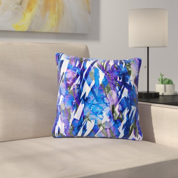 Ebi Emporium Frosty Bouquet 3 Outdoor Throw Pillow by East Urban Home