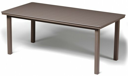 Marine Grade Polymer Rectangular Dining Table by Telescope Casual