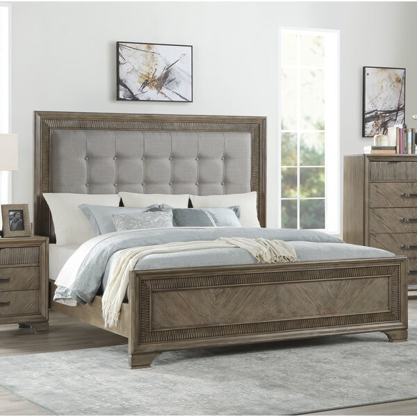 Carlos Queen Upholstered Standard Bed by Alcott Hill