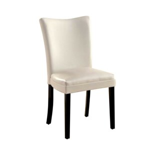 Rohando Leather Upholstered Dining Chair (Set of 2)
