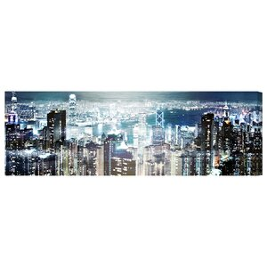 'City Cosmos' Photographic Print on Wrapped Canvas by Oliver Gal