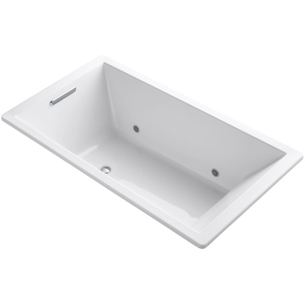 Underscore Vibracoustic 66 x 36 Whirpool Bathtub by Kohler