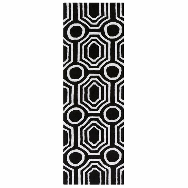 Dylan Black Area Rug by angelo:HOME