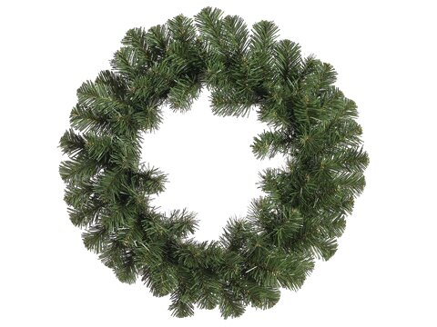 Deluxe Windsor Pine Artificial Christmas Wreath with Unlit by Northlight Seasonal