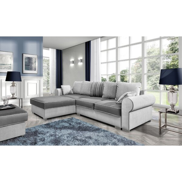 Northpoint Reversible Sleeper Sectional by Rosdorf Park