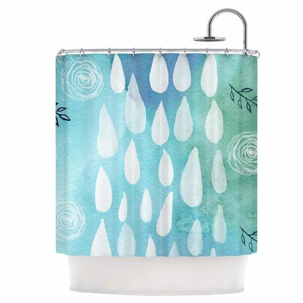 Rain Shower Curtain by East Urban Home