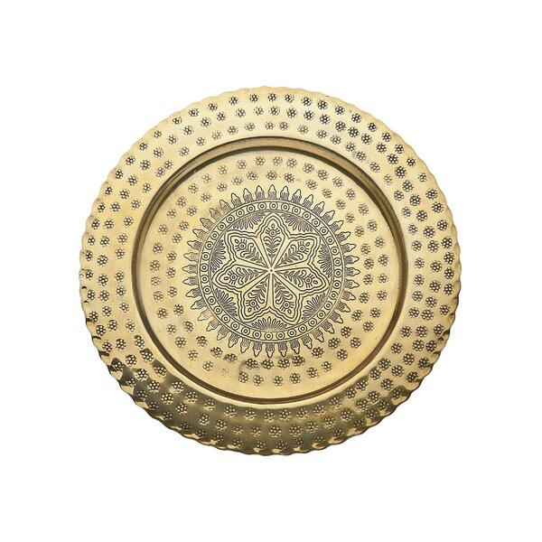 Round Platter by Godinger Silver Art Co