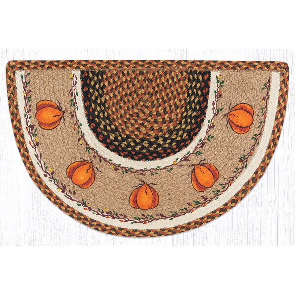 Harvest Pumpkin Orange Area Rug by Earth Rugs