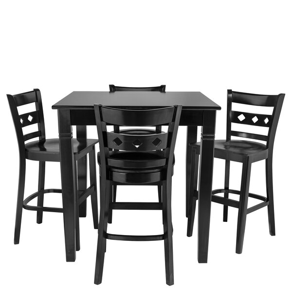 Wein 5 Piece Pub Table Set by Red Barrel Studio