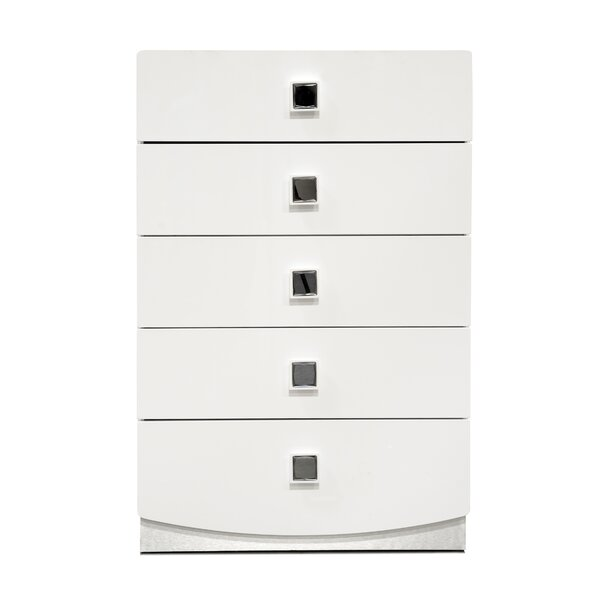 Rachna 5 Drawer Chest by Orren Ellis