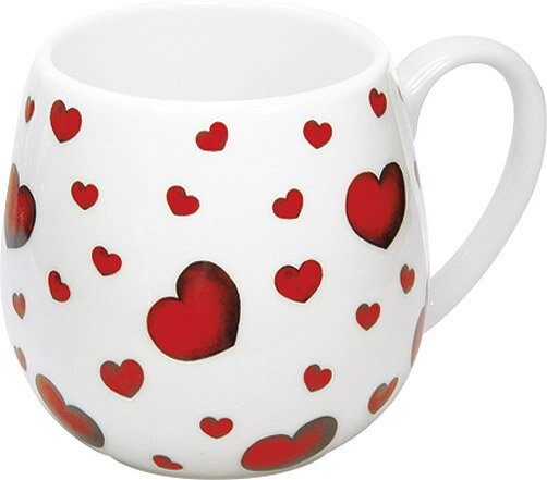 Gift for All Occassions Little Hearts Snuggle Mug (Set of 4) by Konitz