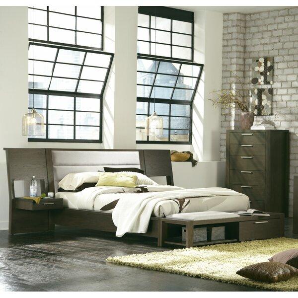 Sirena Upholstered Platform Bed by Brayden Studio