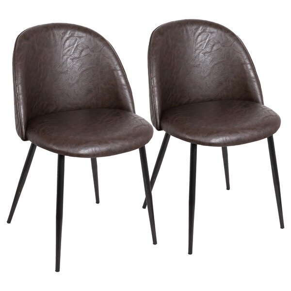 Jin Contemporary Upholstered Dining Chair (Set of 2) by Brayden Studio