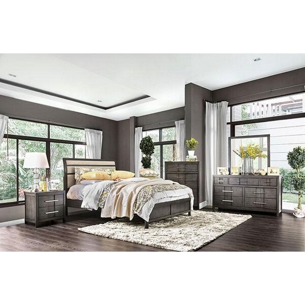 Sanroman Queen Platform 5 Piece Bedroom Set by Red Barrel Studio