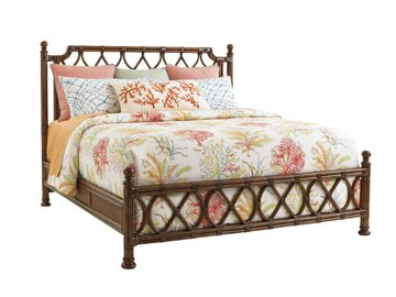 Bali Hai Panel Bed by Tommy Bahama Home