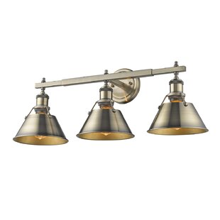 Find the perfect Weatherford 3-Light Vanity Light By Trent Austin Design