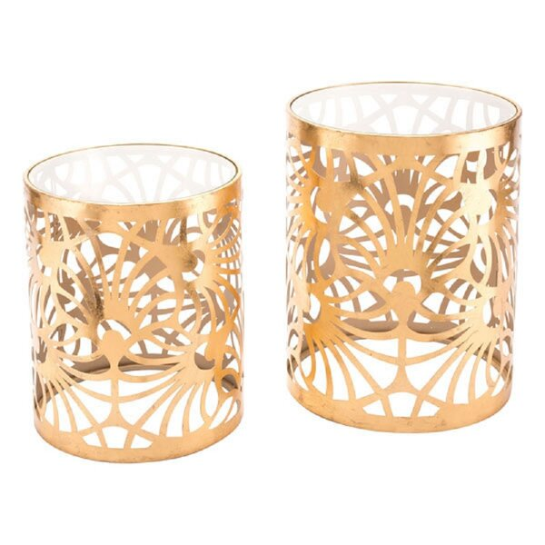 Giblin 2 Piece Nesting Tables By Everly Quinn