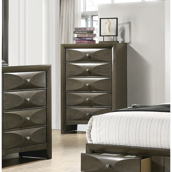 Middleton 5 Drawer Chest by Brayden Studio