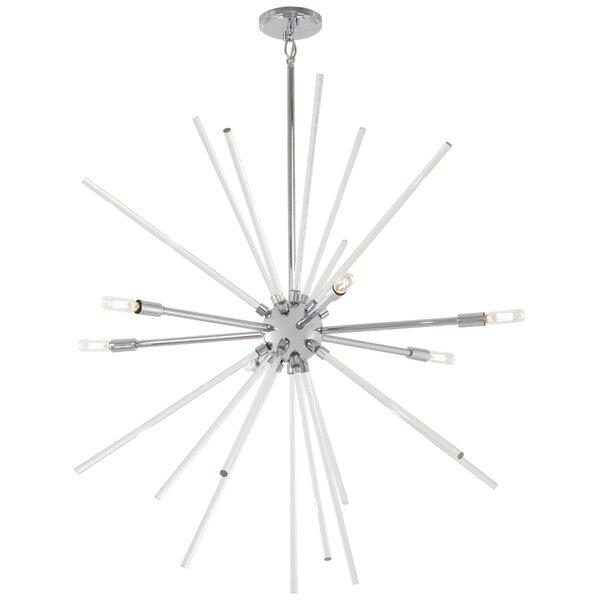 Leyden 6 - Light Sputnik Sphere Chandelier By Wrought Studio