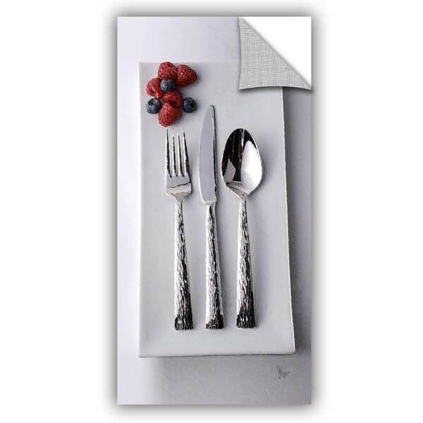 Pleasant Plains Flatware Berries Wall Decal by Winston Porter