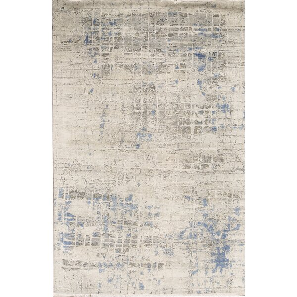 Canterbury Hand-Knotted Blue Area Rug