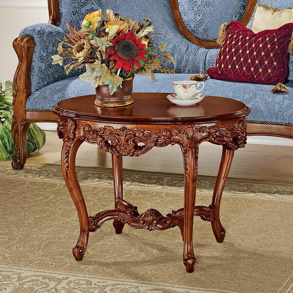 Solid Wood Coffee Table By Design Toscano