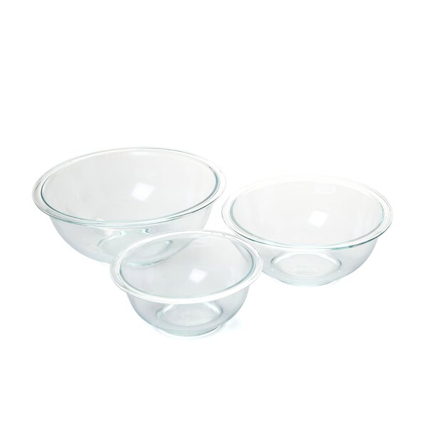 Prepware 3 Piece Mixing Bowl Set by Pyrex