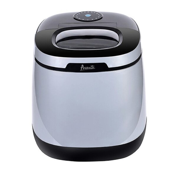Portable Counter Top 45 lbs. Daily Production Ice Maker by Avanti Products