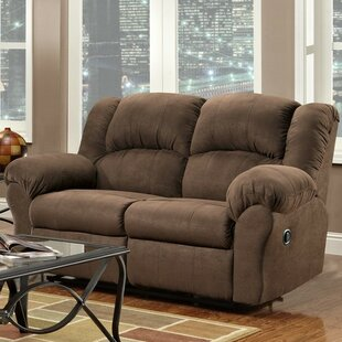 Nash Reclining Loveseat Red Barrel Studio