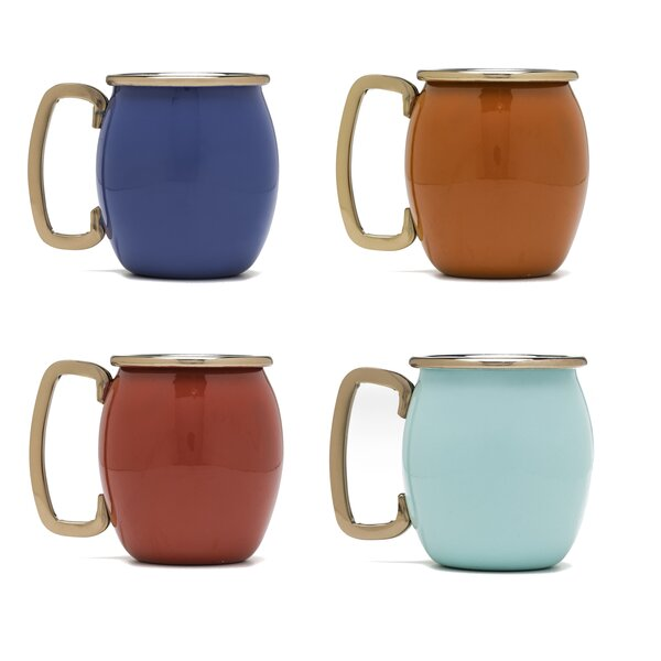 2 Oz. Moscow Mule Shot Mug (Set of 4) by Fiesta