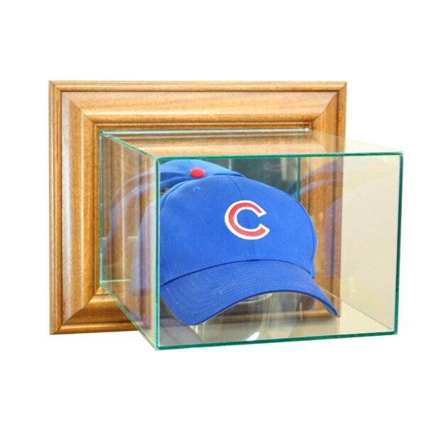 Wall Mounted Cap Hat Display Case by Perfect Cases and Frames