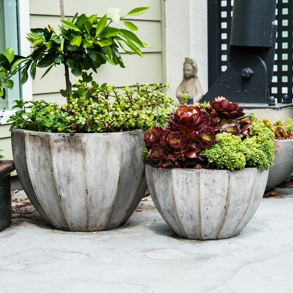 Nau 2-Piece Composite Pot Planter Set by My Spirit Garden
