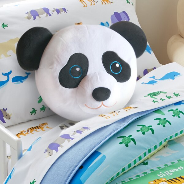 Olive Kids Panda Throw Pillow by Wildkin