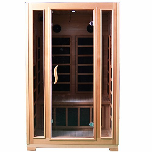 2 Person FAR Infrared Sauna by ALEKO