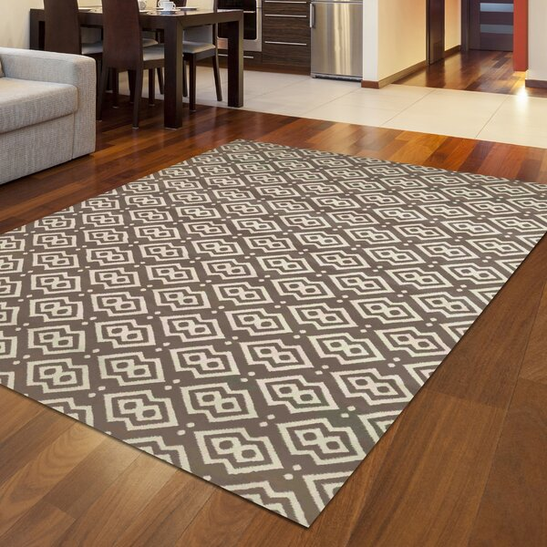 Durham Dark Beige Area Rug by Threadbind