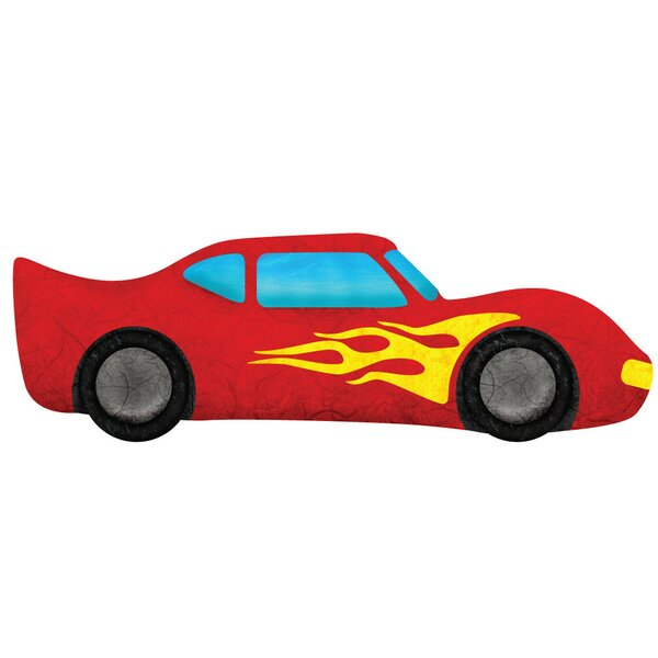 Right Facing Race Car Wall Decal by My Wonderful Walls