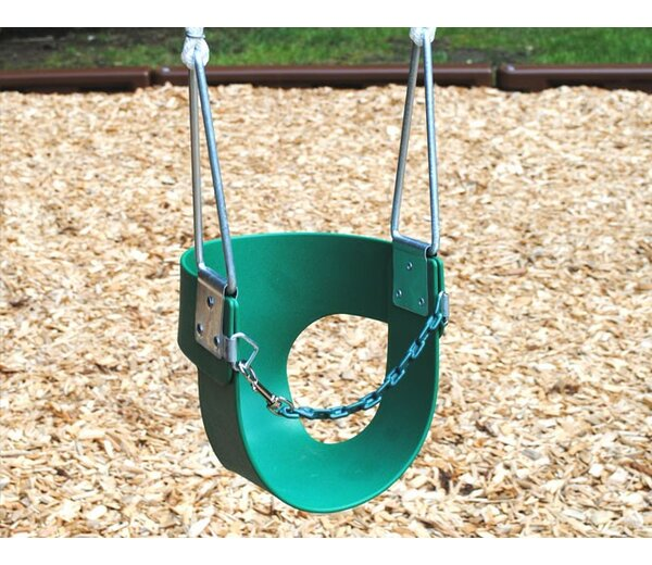 Toddler Swing with Rope by Creative Playthings