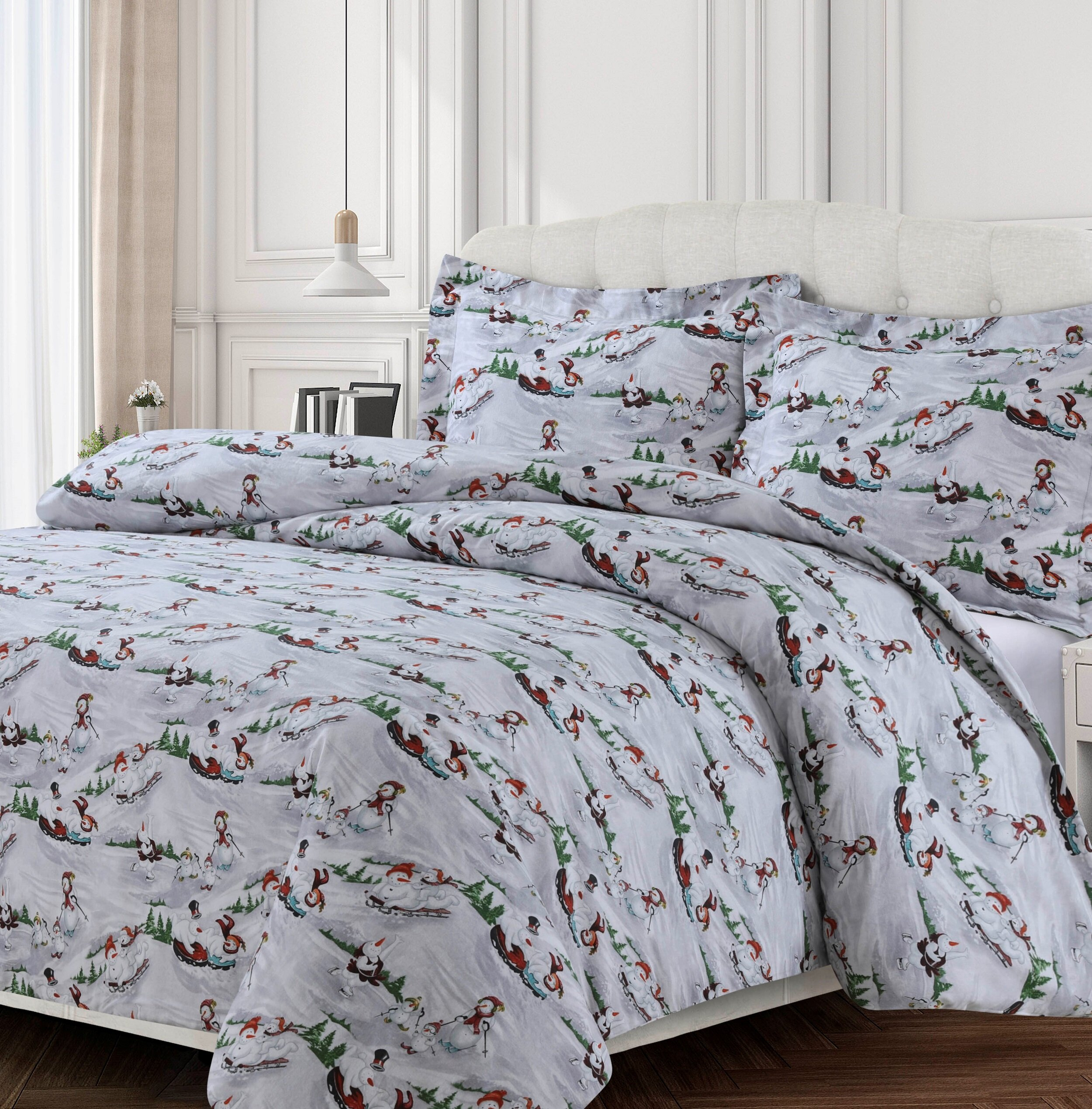 The Holiday Aisle Nessa Oversized Duvet Cover Set Reviews Wayfair
