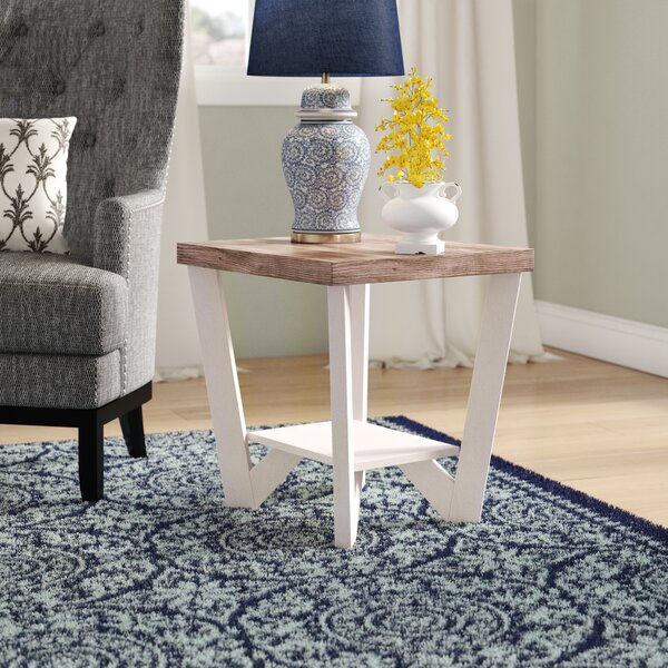 Demby Display Shelf End Table by Highland Dunes