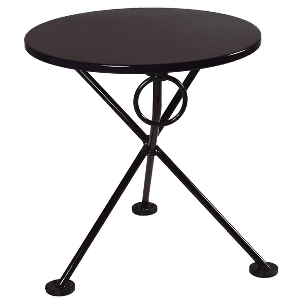 European Café Folding  Metal Side Table by Furniture Designhouse